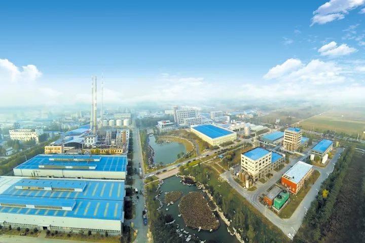 济南圣泉集团俯瞰图