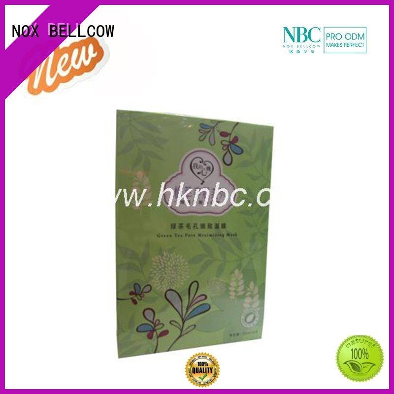 biomass graphene mask nourishing oil camellia NOX BELLCOW Brand