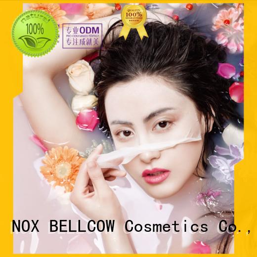 fine pure facial mask manufacturer stress NOX BELLCOW company