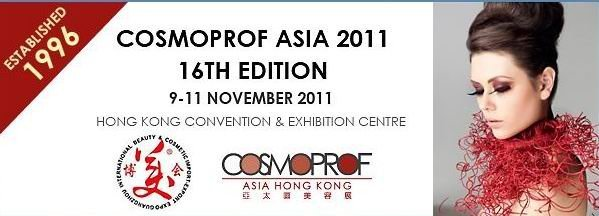 NBC attends the Cosmoprof Asia 2011 16th