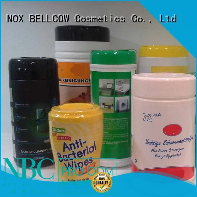 wet wipes nox bellcow cosmetics wipes NOX BELLCOW