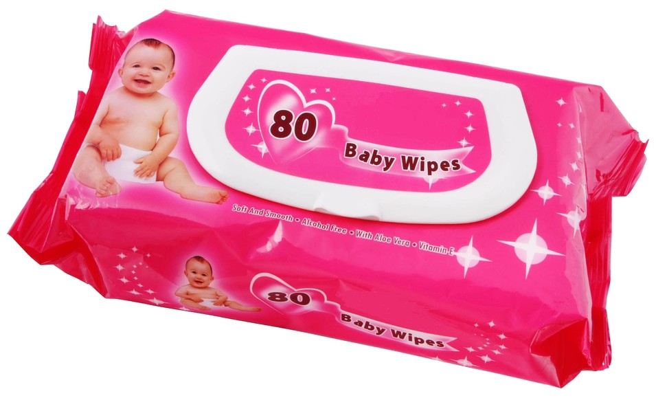 80pcs baby wet wipes