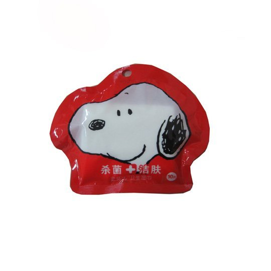 snoopy anti bacterial wipes