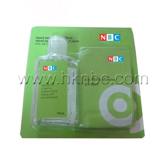 sanitizer spray and wipe