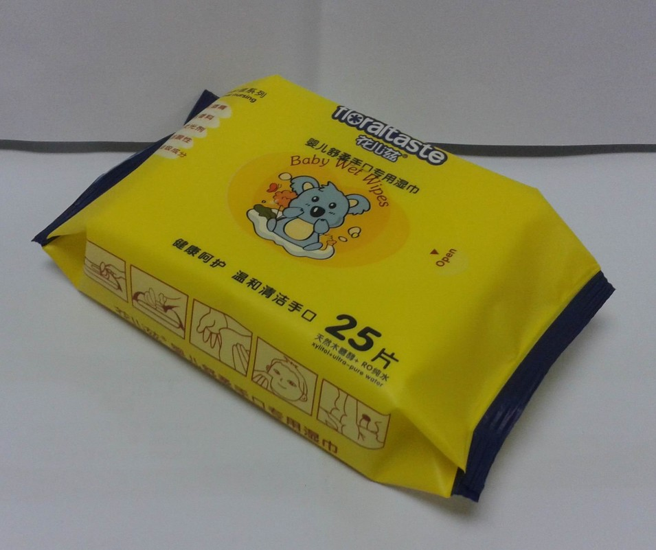 25pcs Baby wipe(special for hand&mouth)
