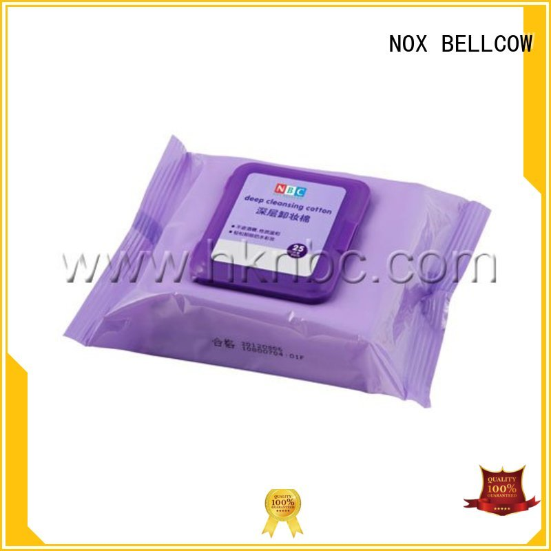 oil free makeup remover wipes make pads makeup remover wipes wipes NOX BELLCOW Brand
