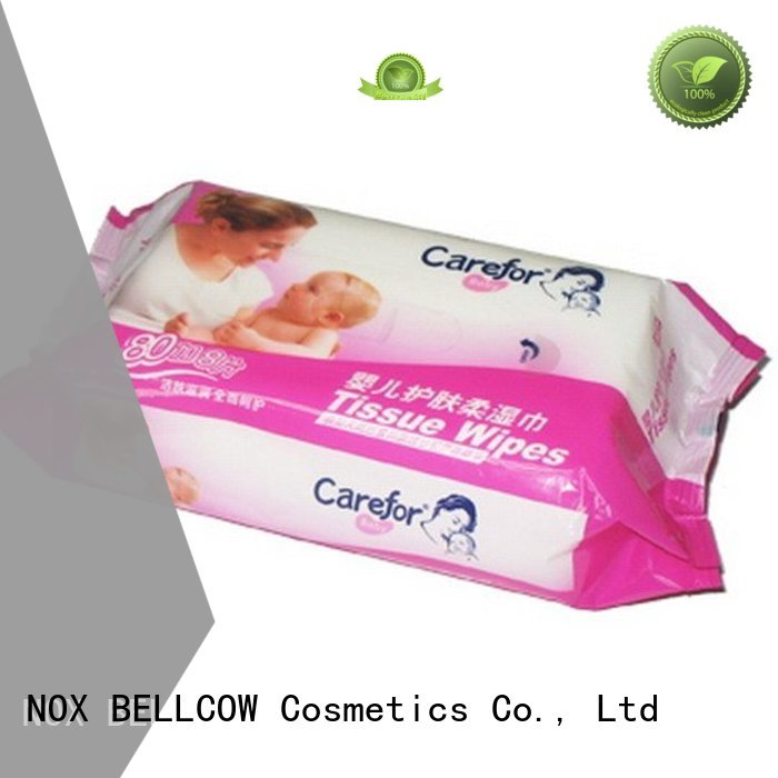 NOX BELLCOW Brand mouth hand fragrance lid best baby wipes