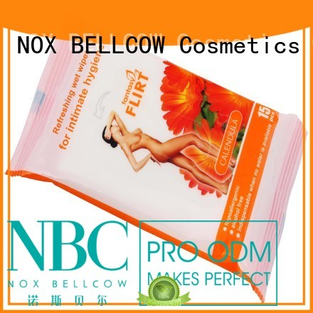 NOX BELLCOW Brand tissues facial acne cleansing wipes individual
