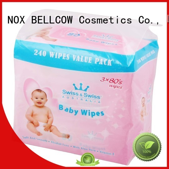 NOX BELLCOW Brand tender special lid best baby wipes