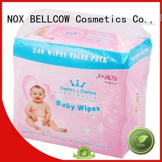 NOX BELLCOW Brand tender special lid best baby wipes