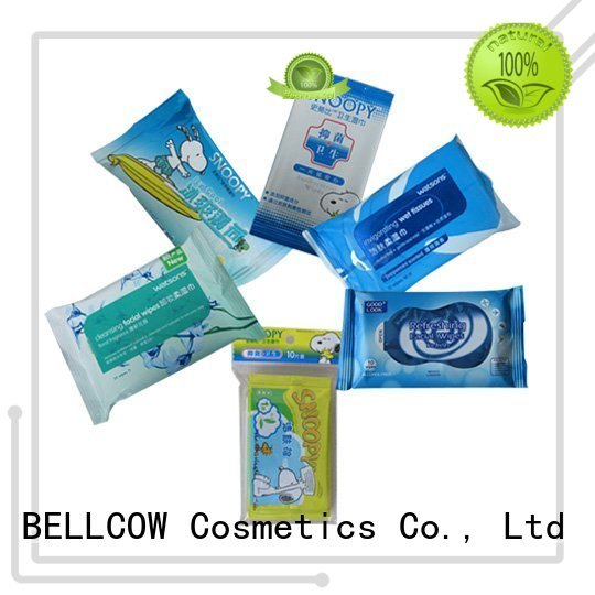 acne cleansing wipes wipes tissues facial cleansing wipes wet NOX BELLCOW Brand