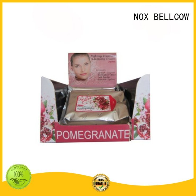 make Custom remover deep makeup remover wipes NOX BELLCOW cleansing