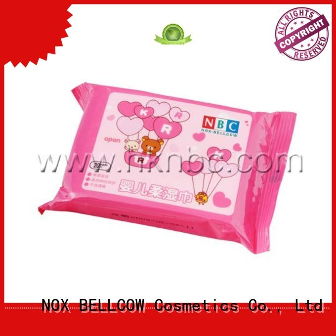biodegradable baby wipes wet wipes NOX BELLCOW Brand