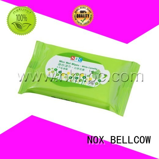 NOX BELLCOW Brand cooling lemon acne cleansing wipes wipes supplier