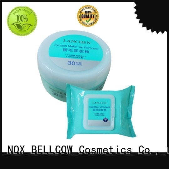 cleansing eraser NOX BELLCOW Brand makeup remover wipes