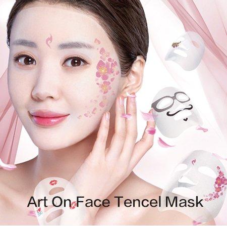 Art On Face Tencel Mask