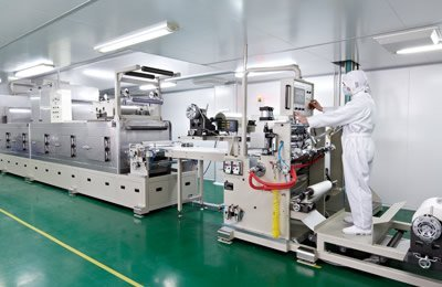 Hydrogel mask automatic production line w_40847