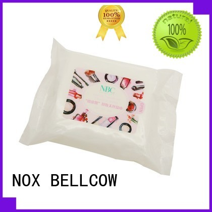 makeupremover cotton remover oil free makeup remover wipes NOX BELLCOW manufacture