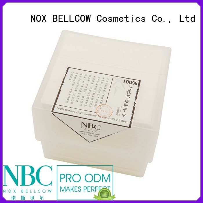 dry fiber antibacterial wipes cotton NOX BELLCOW company